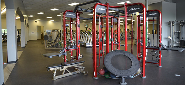 Edgewater Fitness training equipment